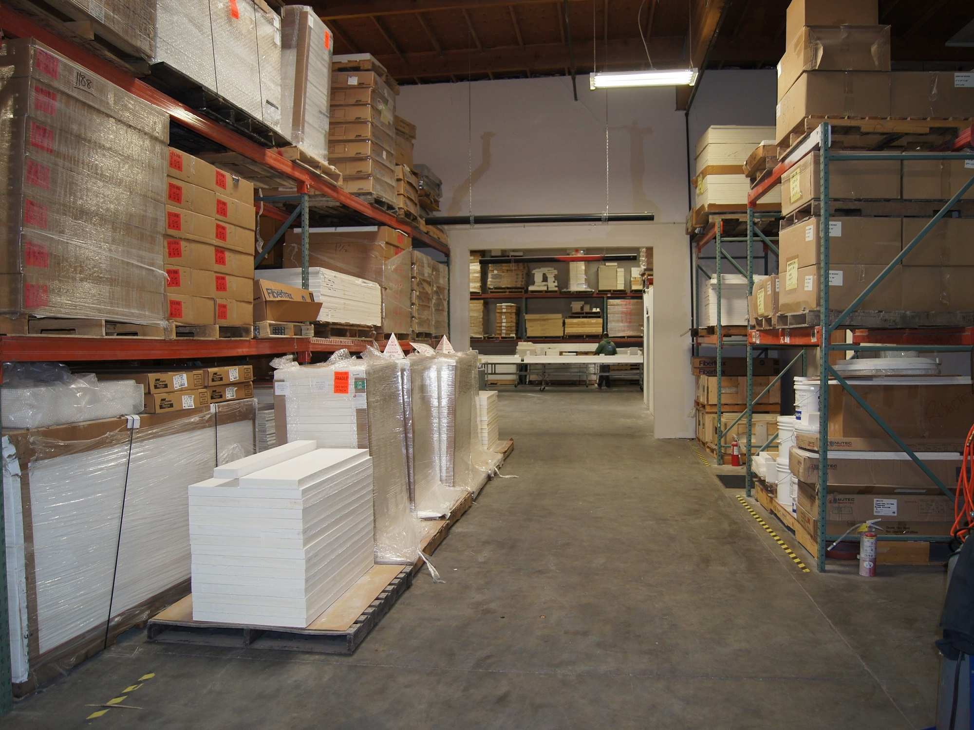 PTI Interior Warehouse