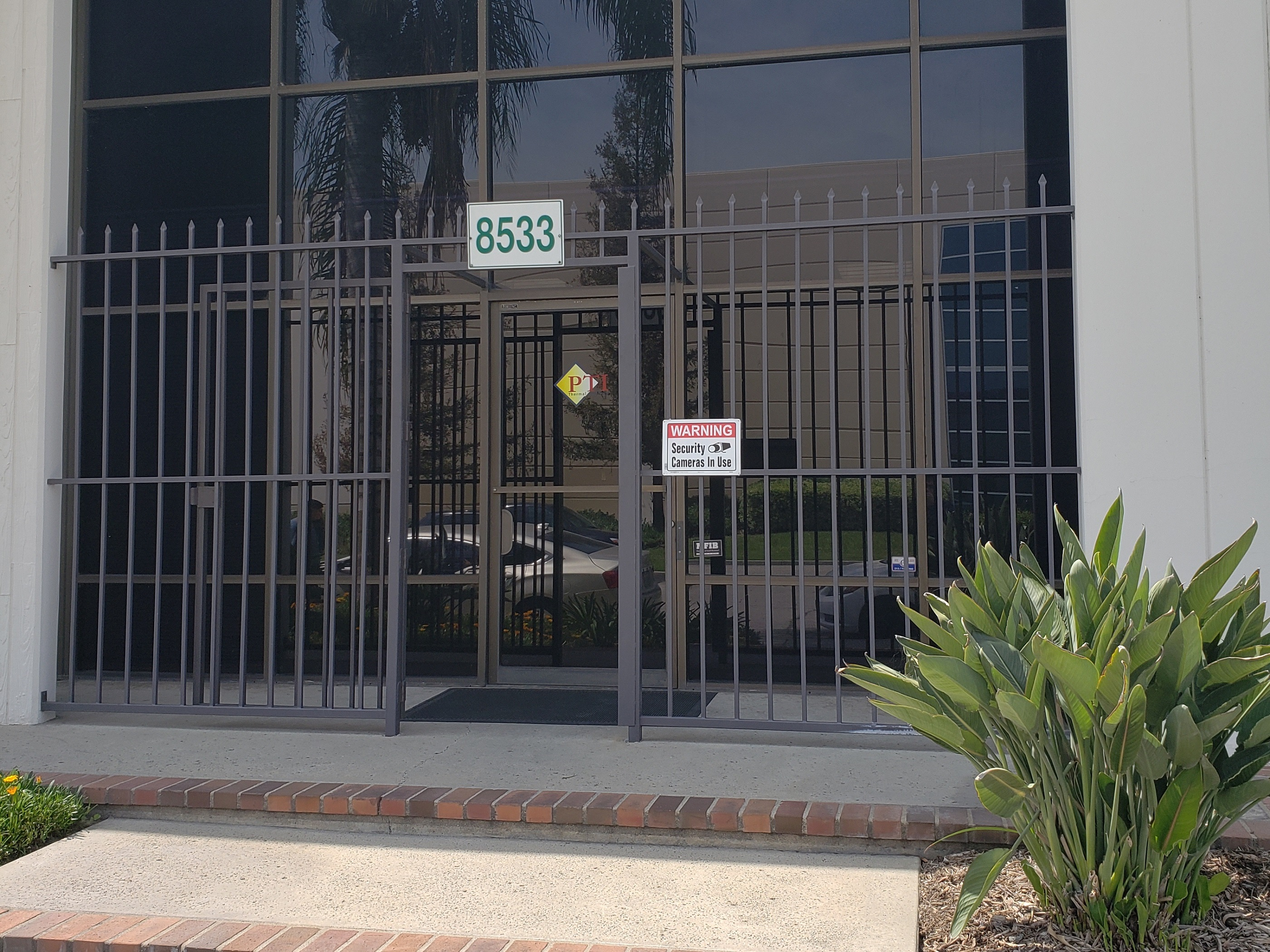 PTI front door SoCal